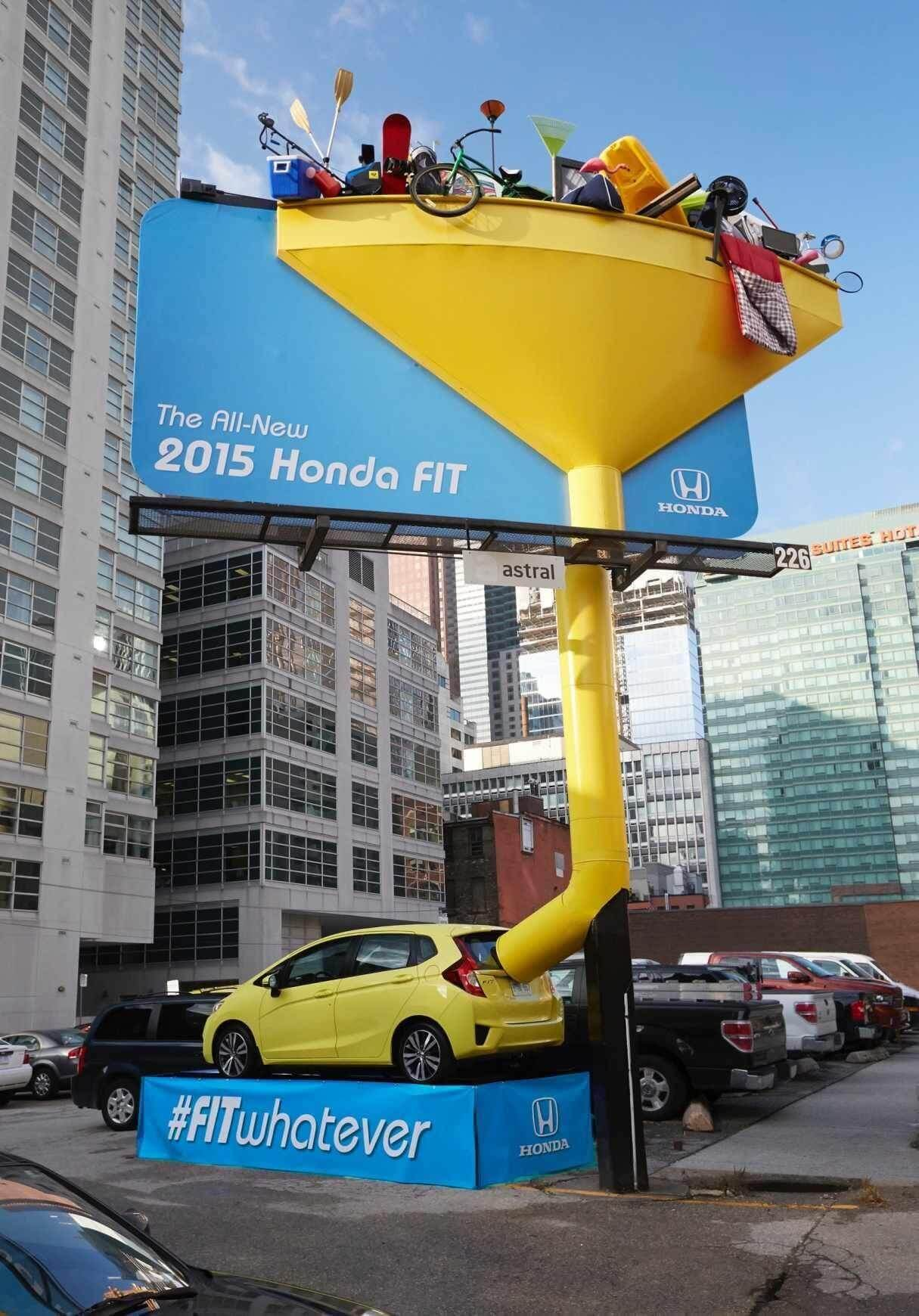 Great OOH advertising tells a story and highlights key qualities about the product