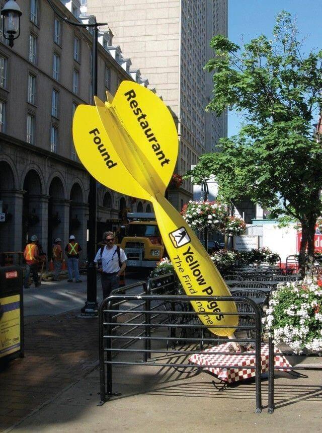 Street marketing hits regular spots in unconventional ways