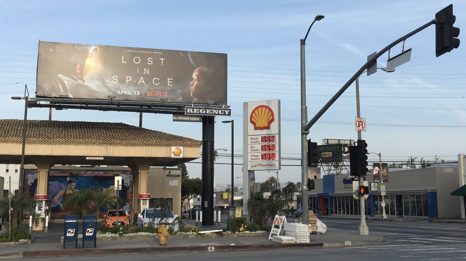 billboard advertising owned by Netflix