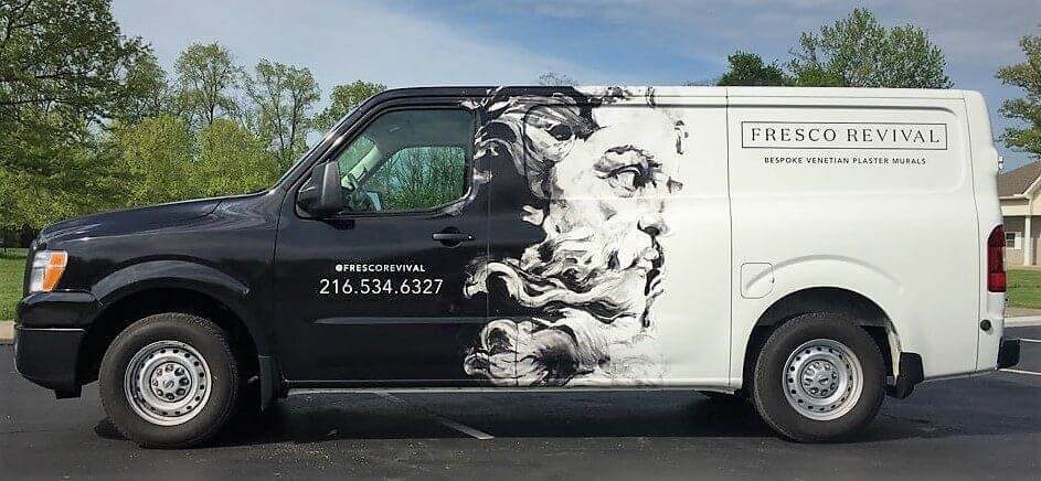 Car wraps generate a ton of impressions per day, thanks to their unique designs