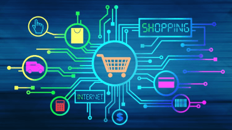Starting Your E-commerce Business, a diagram of all the different channels of e-commerce.