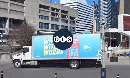 OLG truck advertising campaign in Toronto campaign video